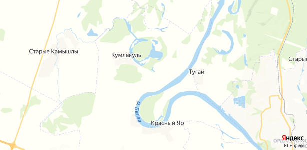 Якшиваново на карте