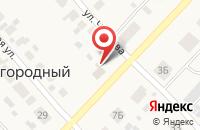 Схема проезда до компании Шиномонтажная мастерская в Загородном