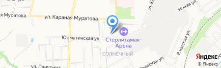 Центр авторазбора на карте Стерлитамака