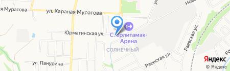 Сеть магазинов дверей на карте Стерлитамака