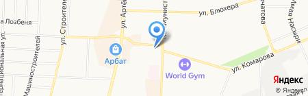 Банкомат Уральский банк реконструкции и развития на карте Стерлитамака