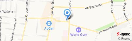 Мясная лавка на карте Стерлитамака