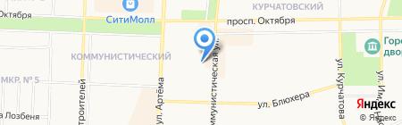 Обжорка на карте Стерлитамака