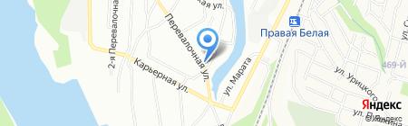 Рейд-Гарант на карте Уфы
