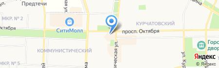 Фабрика одежды на карте Стерлитамака