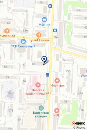 ТД МИАССКИЕ КУХНИ на карте Стерлитамака