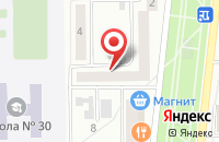 Схема проезда до компании Библиотека №2 в Мариинском