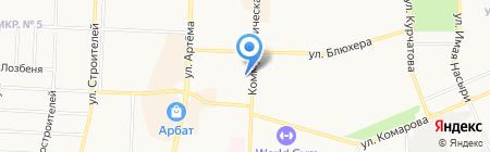 Витязь на карте Стерлитамака