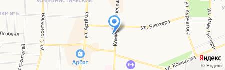 АИКБ Татфондбанк на карте Стерлитамака