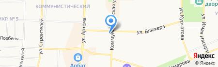 ВЭБ-лизинг на карте Стерлитамака