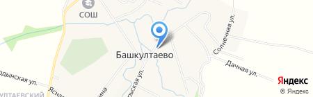 БашОргСервис на карте Баша-Култаево