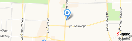 Быстроденьги на карте Стерлитамака
