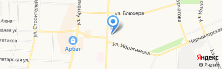ОНЕГО на карте Стерлитамака