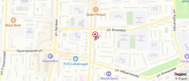 Карта расположения пункта доставки Lamoda/Pick-up в городе Стерлитамак