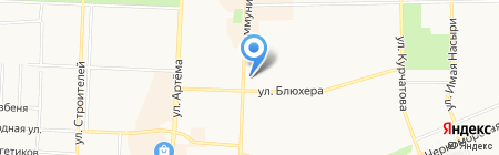 Катюша на карте Стерлитамака