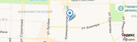 Эдигей на карте Стерлитамака