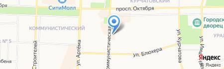 Башкирия на карте Стерлитамака