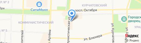 ПУХОВИК на карте Стерлитамака