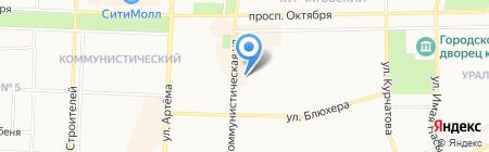 Авдон на карте Стерлитамака