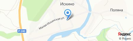 Искинский дом культуры на карте Уфы