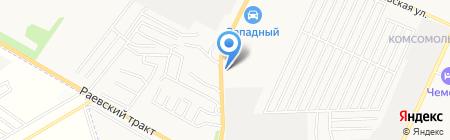 АЗС на карте Стерлитамака