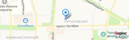 А-Соль на карте Стерлитамака