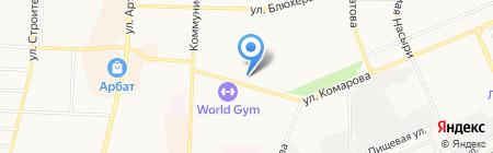 Березка на карте Стерлитамака