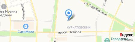 Б.И.Н.-ЭкспертЪ на карте Стерлитамака
