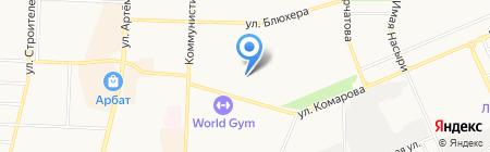 Детский сад №81 на карте Стерлитамака