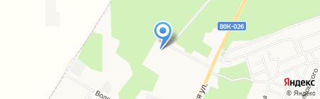 Башкирская содовая компания на карте Стерлитамака