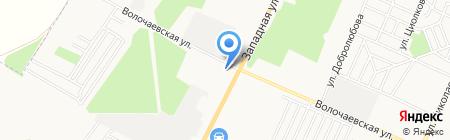 Электроды на карте Стерлитамака