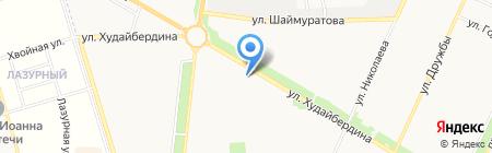 Семёрочка на карте Стерлитамака