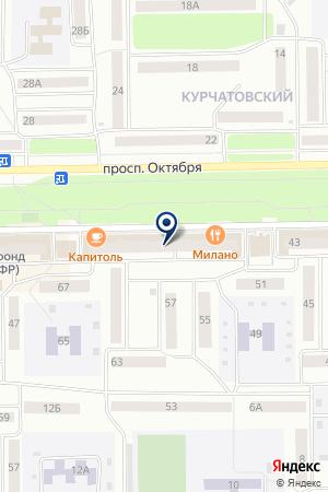 ГОРОДСКАЯ ВЕЩАТЕЛЬНАЯ СТУДИЯ САТЕЛЛИТ на карте Стерлитамака