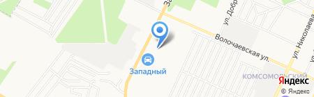 Автошины на карте Стерлитамака