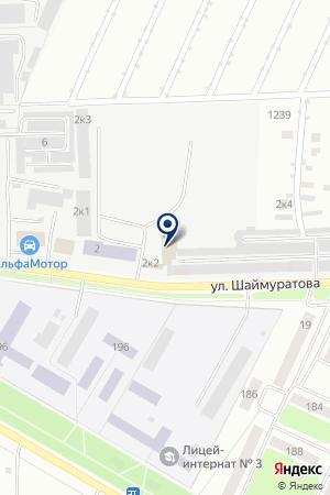 БЫТТРАНССЕРВИС МП на карте Стерлитамака