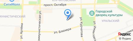 Участковый пункт полиции Отдел полиции №4 на карте Стерлитамака