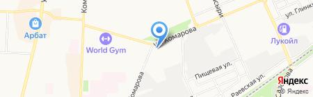 Кафе на Черноморской на карте Стерлитамака