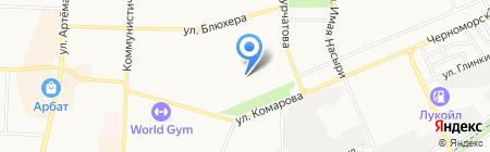 Детский сад №8 на карте Стерлитамака