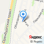 АБС УФА БЕТОН на карте Чесноковки