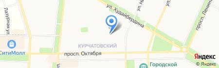 Детский сад №58 на карте Стерлитамака