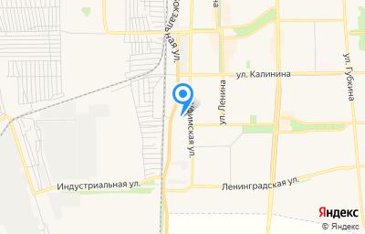 Местоположение на карте пункта техосмотра по адресу Респ Башкортостан, г Салават, ул Уфимская, влд 105