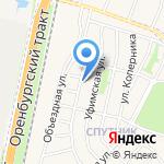 КодАларм на карте Чесноковки