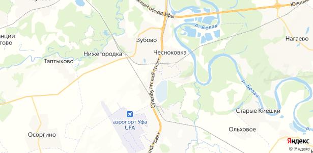 Чесноковка на карте