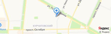 Главное бюро медико-социальной экспертизы по Республике Башкортостан на карте Стерлитамака