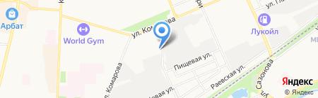 БашЭлектроСтроймонтаж на карте Стерлитамака