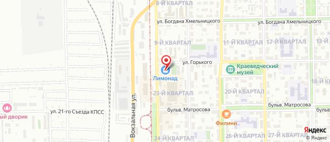 Карта расположения пункта доставки Салават Уфимская в городе Салават
