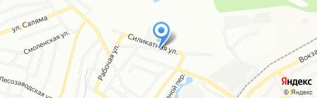 Супермонтаж на карте Уфы