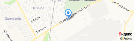 Профессиональный лицей №97 на карте Стерлитамака