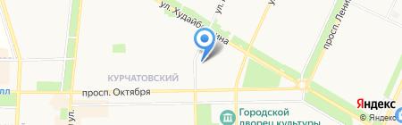 СХТК на карте Стерлитамака