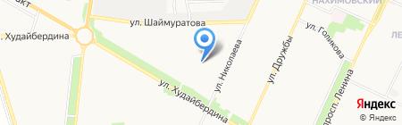 Детский сад №1 на карте Стерлитамака
